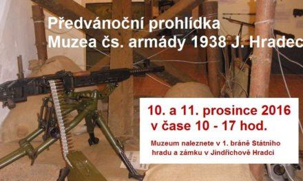 Předvánoční prohlídka Muzea čs. armády 1938