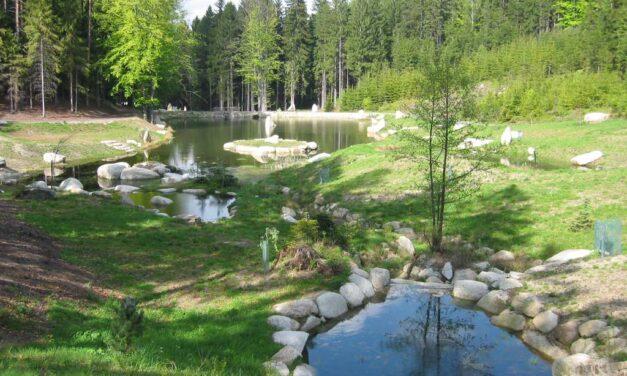 Podél kaskád rybníků
