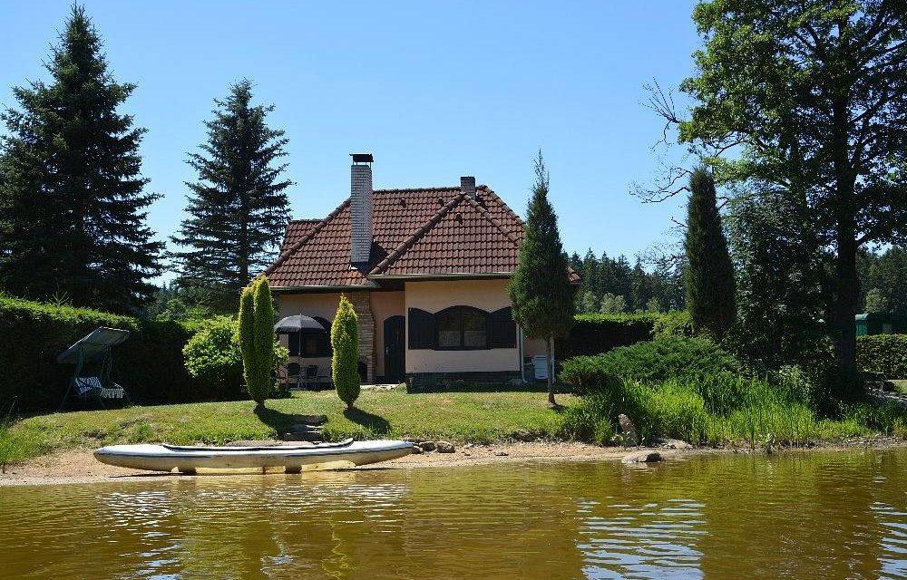 Chata u rybníka Klikáč
