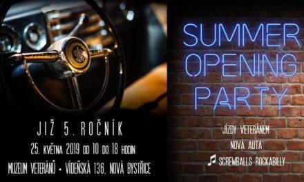 Summer opening v muzeu